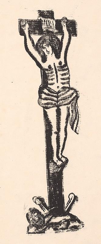 Slovenský grafik zo začiatku 19. storočia - Ukrižovaný
