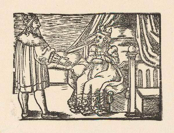 Nemecký grafik z 2. polovice 16. storočia – Cisár s manželkou