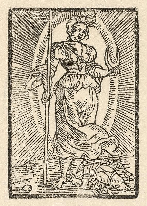 Moravský grafik z prelomu 16. - 17. storočia – Venuša