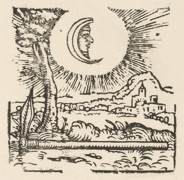 Nemecký grafik z 1. polovice 16. storočia – Motyka