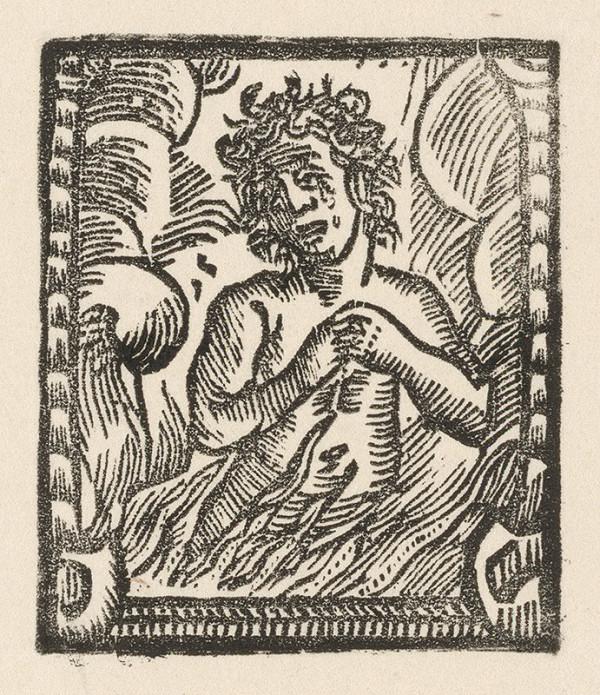 Moravský grafik z prelomu 18. - 19. storočia – Duša v pekelnom ohni