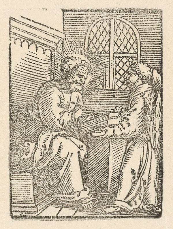 Nemecký grafik z 1. polovice 16. storočia - Svätý Ján