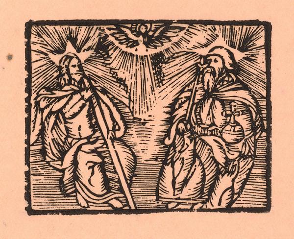 Moravský grafik zo začiatku 17. storočia - Svätá Trojica