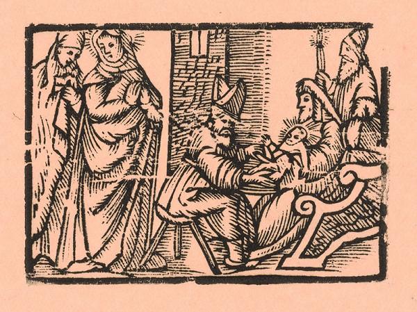 Moravský grafik z prelomu 16. - 17. storočia – Obriezka