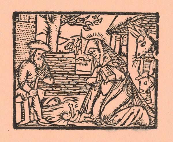 Moravský grafik zo začiatku 17. storočia – Narodenie