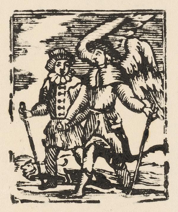 Slovenský grafik z prelomu 18. - 19. storočia – Pútnici
