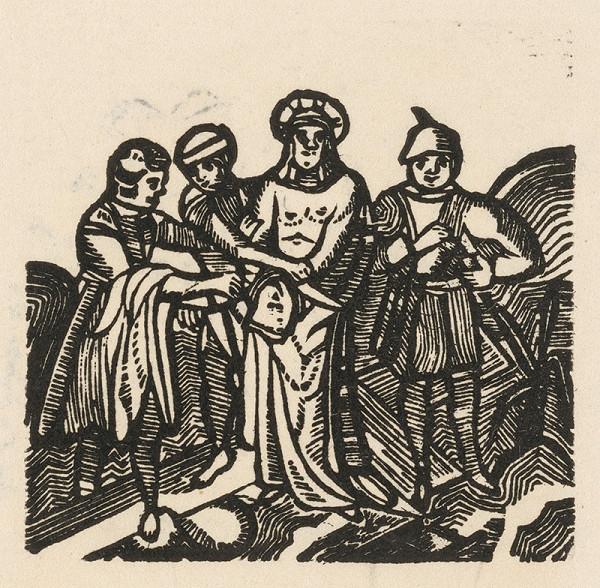 Moravský grafik zo začiatku 19. storočia - Posmievanie Krista