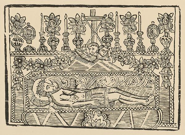 Imrich Spevák – Kristus v hrobe