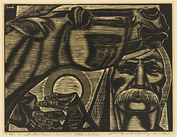 Július Szabó - Chlap s koňom