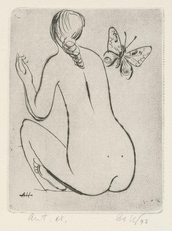 Anton Hollý – Motýlik