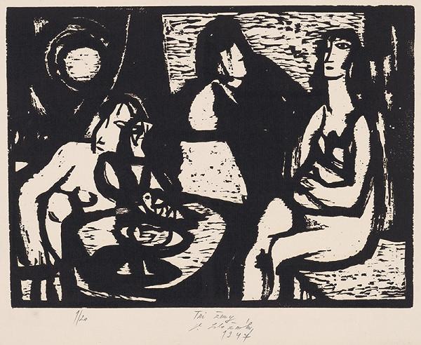 Vincent Hložník – Tri ženy
