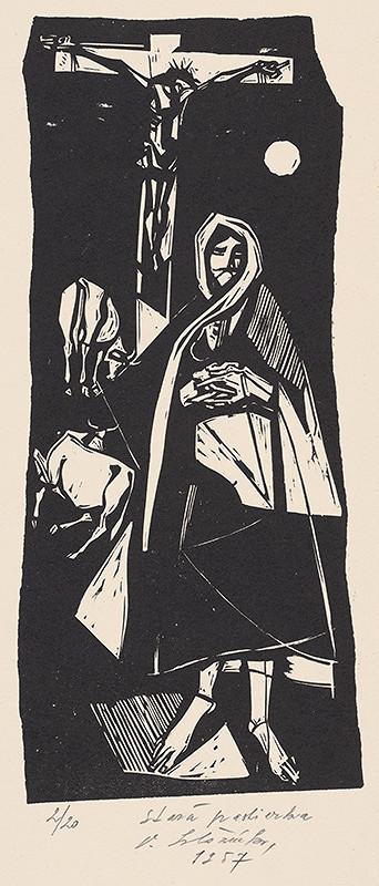 Vincent Hložník - Stará pastierka