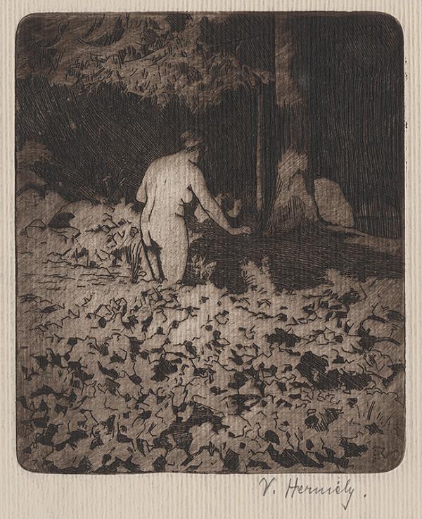 Viktor Hermély - V lese