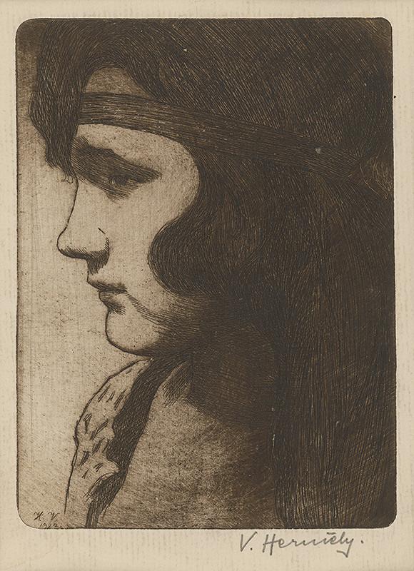 Viktor Hermély - Portrét dievčaťa