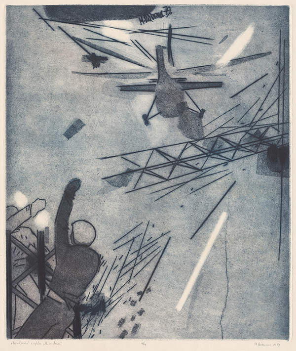 Marcel Dúbravec – Vo výškach