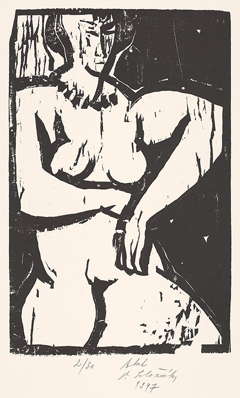Vincent Hložník - Akt