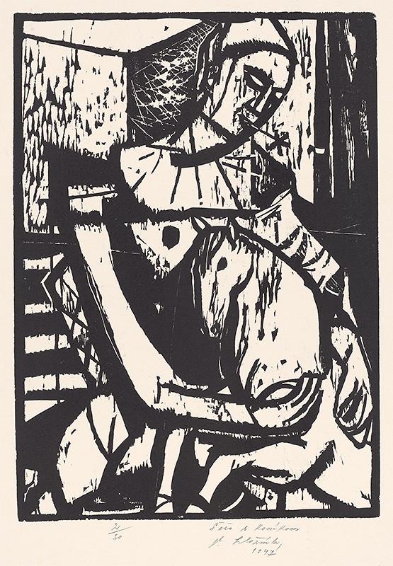 Vincent Hložník - Šašo s koníkom