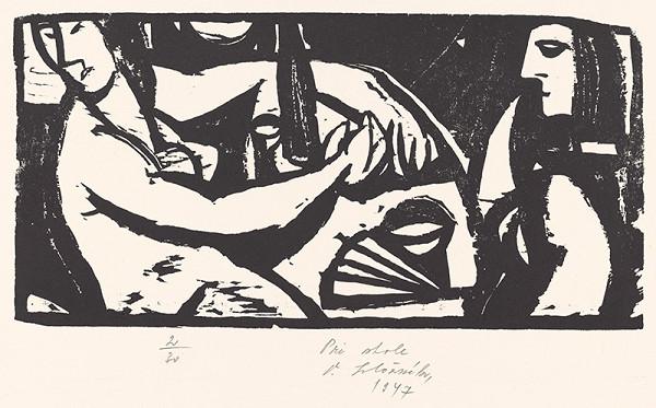Vincent Hložník – Pri stole