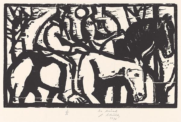 Vincent Hložník – Na koňoch