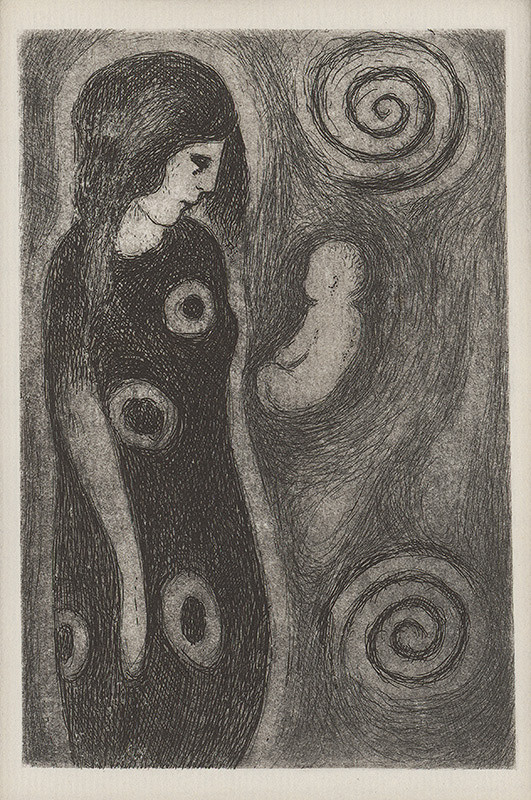Mikuláš Galanda – Žena s vázami