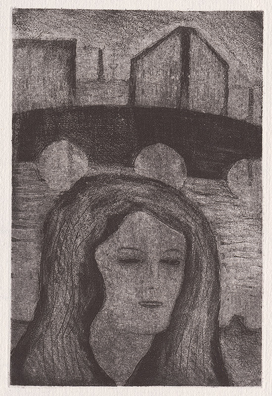 Mikuláš Galanda - Portrét ženy