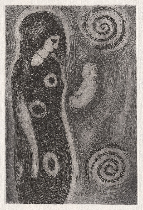 Mikuláš Galanda - Materstvo