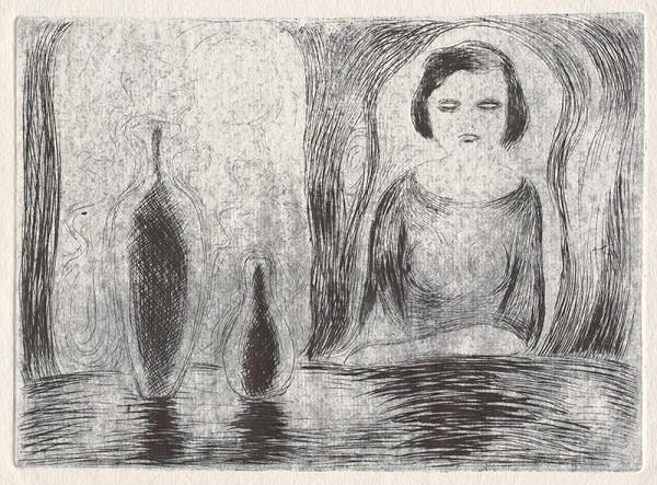 Mikuláš Galanda - Žena s vázami