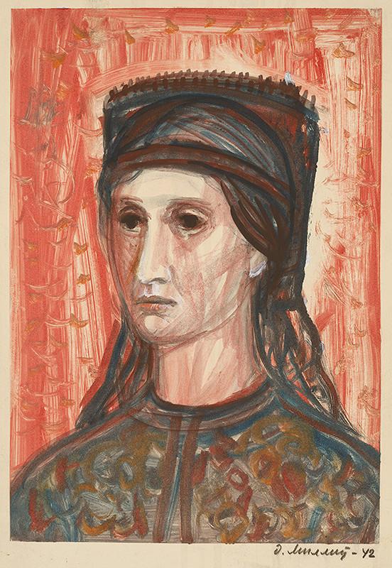 Dezider Milly – Žena v kroji