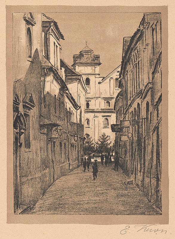 Eugen Krón – Mnišská ulica