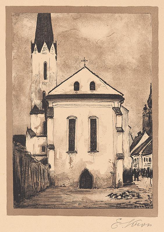 Eugen Krón - Dominikánsky kostol