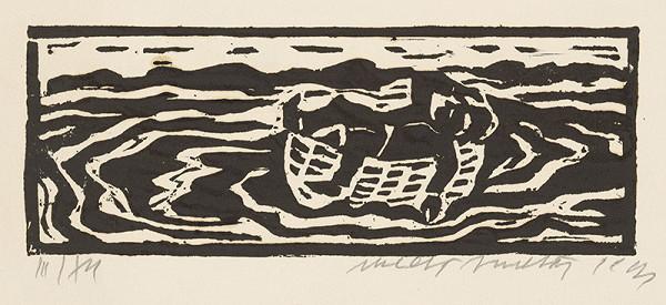 Ernest Zmeták – Ležiaci chlap v loďke