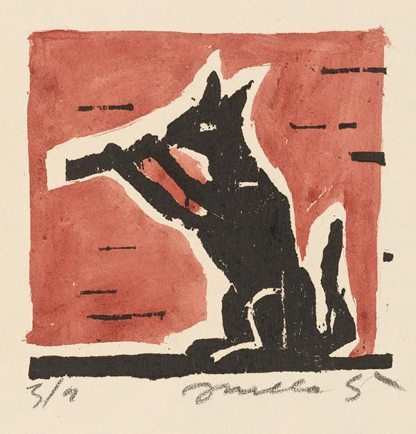 Ernest Zmeták - Pískajúci vlk