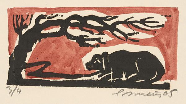 Ernest Zmeták - Pes uviazaný na reťazi