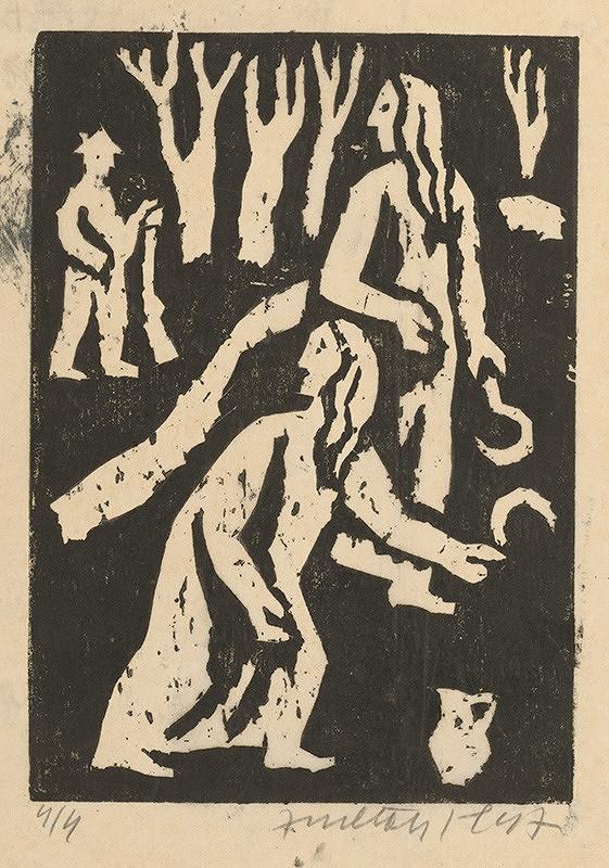 Ernest Zmeták - Dve ženy s kosákmi