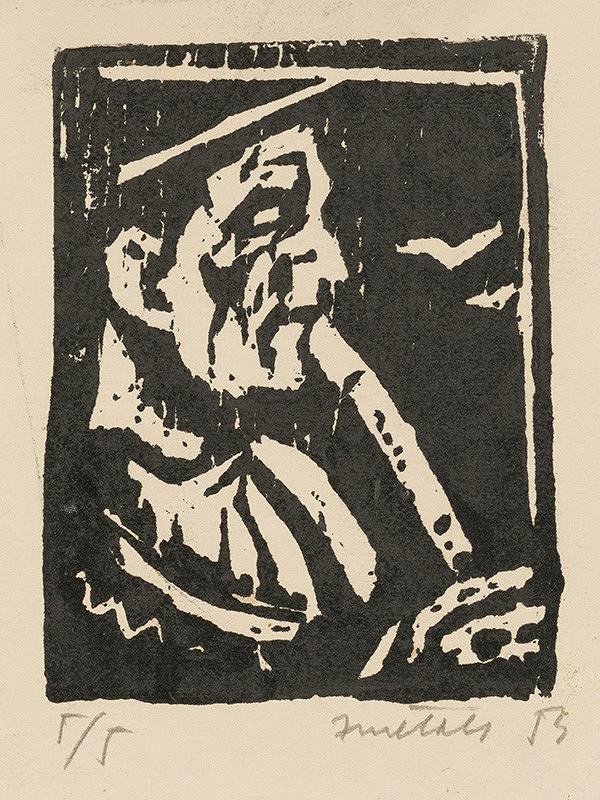Ernest Zmeták - Ilustrácia knihy Slovenské ľudové piesne