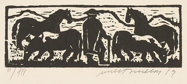 Ernest Zmeták - Ilustrácia rozprávky o Ďurkovi, čo oslobodil princeznú