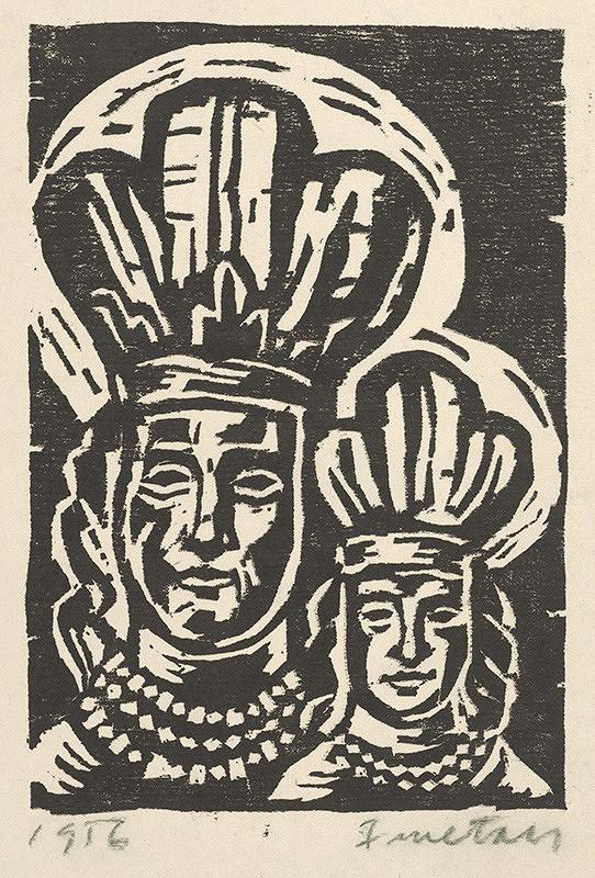 Ernest Zmeták – Madona s dieťaťom