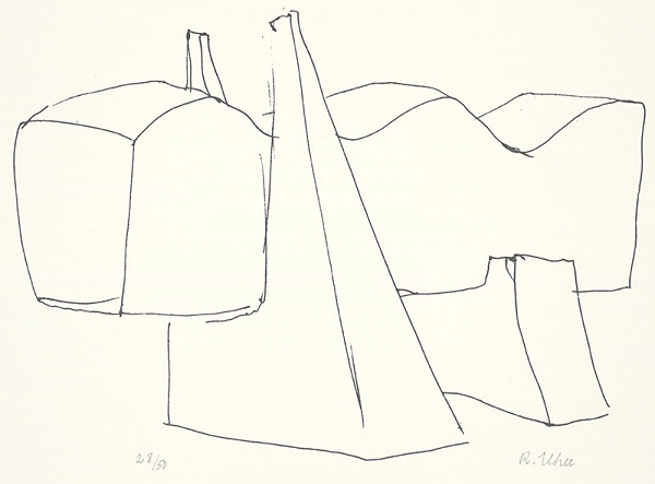 Rudolf Uher - Serigrafia IV.