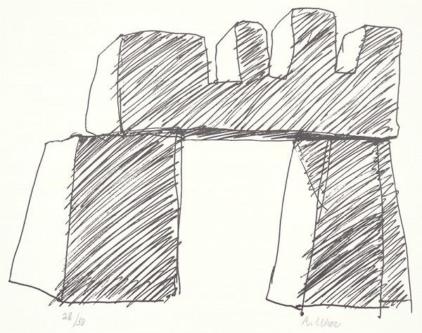 Rudolf Uher – Serigrafia V.