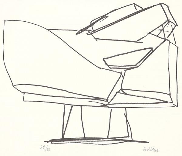 Rudolf Uher - Serigrafia VII.