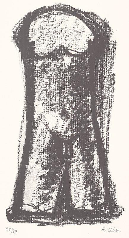 Rudolf Uher - Serigrafia IX.