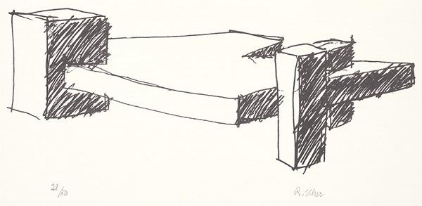Rudolf Uher - Serigrafia XI.