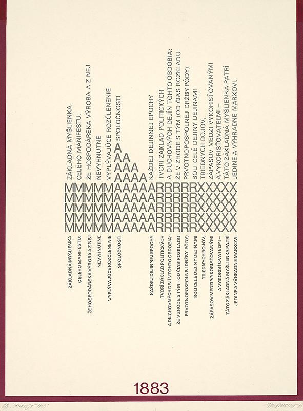 Róbert Brož – Manifest 1883