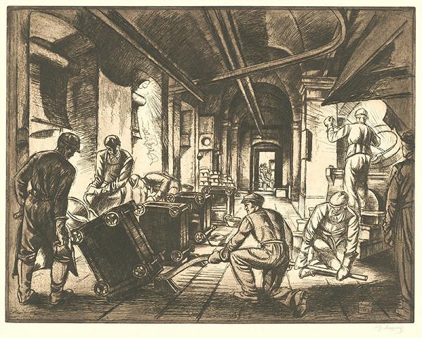 Gejza Angyal - Práca v šmelciarni