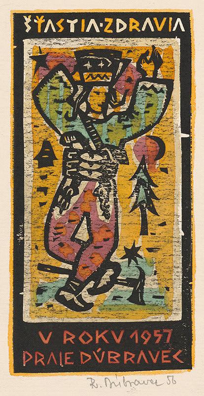 Robert Dúbravec – Novoročenka 1957