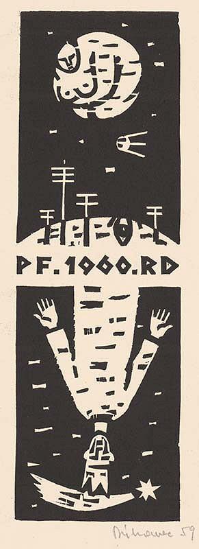 Robert Dúbravec – PF. 1960 .RD