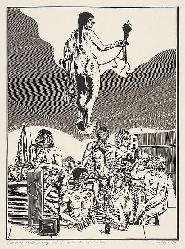 Roland Berger – Nemesis pri prechode mužskými kúpeľmi-podľa A. Dürera