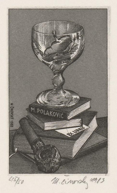 Martin Činovský - Ex libris Polakovič