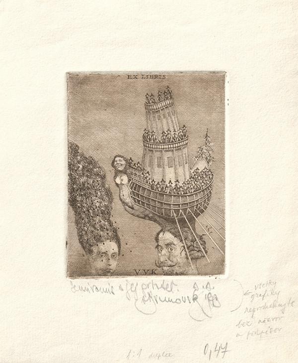 Albín Brunovský - Ex libris VVK
