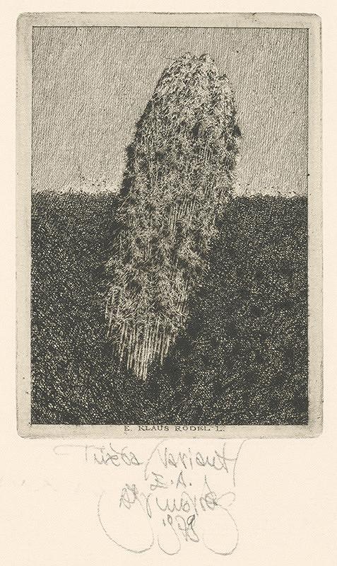 Albín Brunovský - Ex libris K.Rödel